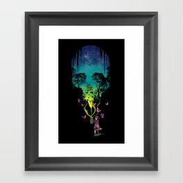THE FORBIDDEN BUTTERFLIES Framed Art Print