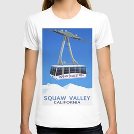 Squaw Valley Ski Resort ,LakeTahoe , California T-shirt