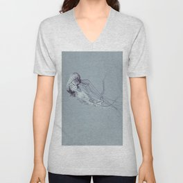 Jellyfish 2 Unisex V-Neck