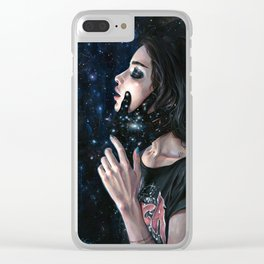 Gravity Trance Clear iPhone Case
