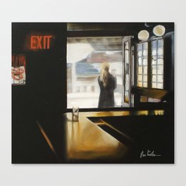 """SUBWAY INN"" Canvas Print"