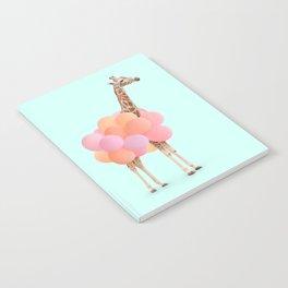 GIRAFFE PARTY Notebook