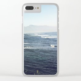 Hawaii Surfing Clear iPhone Case