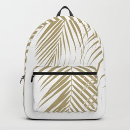 Summer Palm Leaves #1 #tropical #decor #art #society6 Backpack