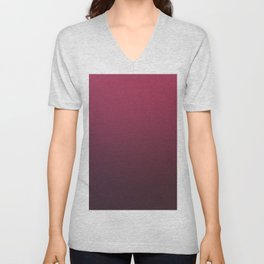 DARK PERSONALITY - Minimal Plain Soft Mood Color Blend Prints Unisex V-Neck