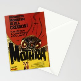 retro mothra mightiest monster in all creation. 1962 Stationery Cards