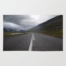icelandic road. Rug
