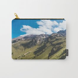 View Hiking up Iztaccihutal Volcano, Mexico City Carry-All Pouch
