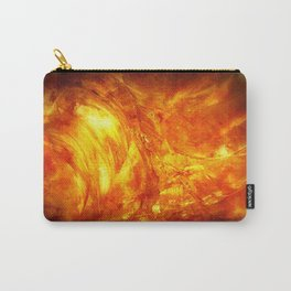 Surface Of The Sun - Leo - Science - Hipster - Hot Carry-All Pouch