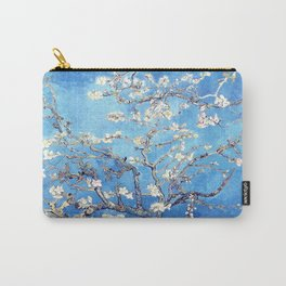 Vincent Van Gogh Almond Blossoms. Sky Blue Carry-All Pouch