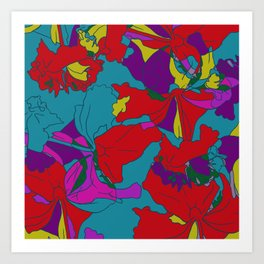 summers grace #2 Tropical Art Print