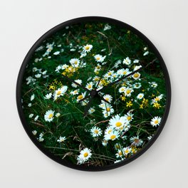Moody Meadow Wall Clock
