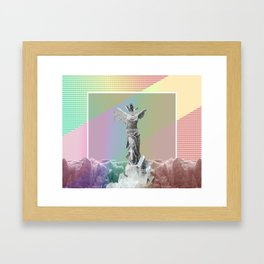 Positive State of Mind Framed Art Print