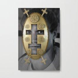 The Byzantine Basilica Metal Print