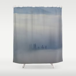 So We Rise Shower Curtain