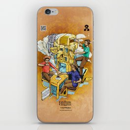 The Fantastic Craft Coffee Contraption Suite - The Fantastic Craft Coffee Contraption iPhone Skin