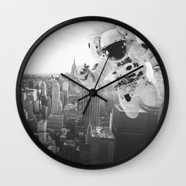 I'm looking for astronaut Wall Clock