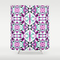 geo Shower Curtains featuring geo by Lang