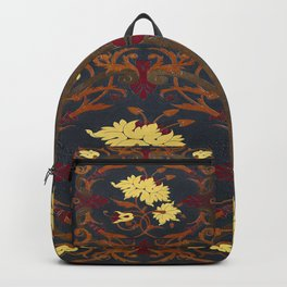 Victorian Vines Book Backpack