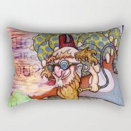 Alice and the Caterpillar Rectangular Pillow