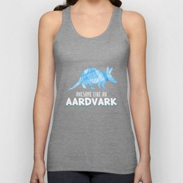 Animal Art - Awesome Like An Aardvark Unisex Tank Top