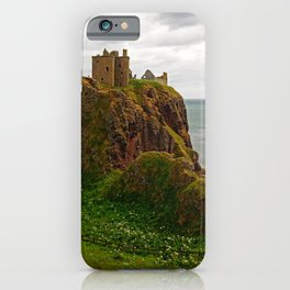 Dunnottar Castle, a medieval fortress in Stoneheaven iPhone Case
