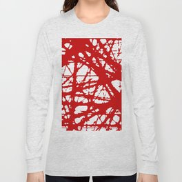 tension, red Long Sleeve T-shirt