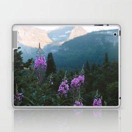 Glacier Flowers Laptop & iPad Skin