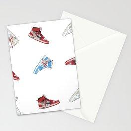 Jordan 1 Offwhites Pattern Stationery Cards