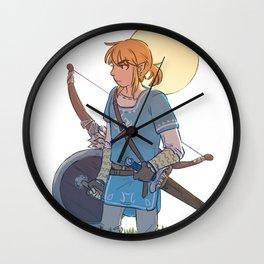 Hero of the Wild Wall Clock