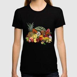 Bounty of Tropical Fruit T-shirt