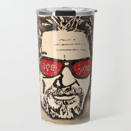 """The Dude Abides"" featuring The Big Lebowski Travel Mug"
