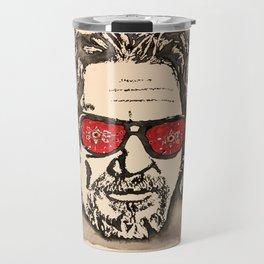 """The Dude Abides"" featuring The Big Lebowski Travel Mug"