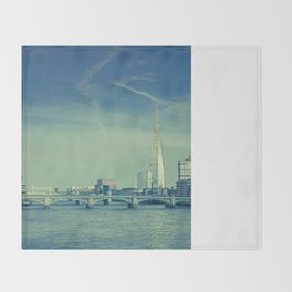 View to the Shard Throw Blanket