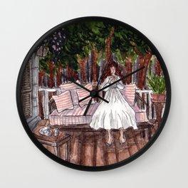 First Sip Wall Clock
