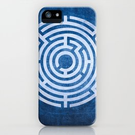 Solving Mazes iPhone Case