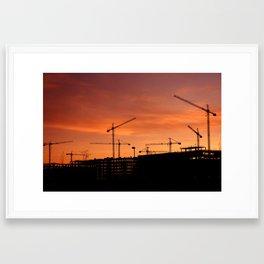 """Building"" Framed Art Print"