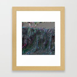 perfectly corrupted Framed Art Print