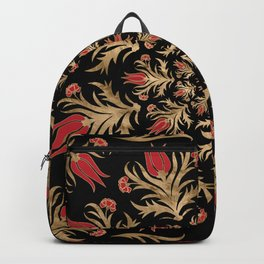 Turkish tulip - Ottoman tile 3 Backpack