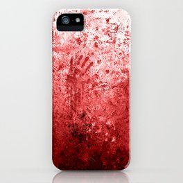Bloody Abattoir Wall iPhone Case