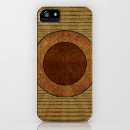 """Golden Circle Japanese Vintage"" iPhone Case"