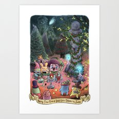 Merry This Time of Year (from Tobias and Jube) Art Print