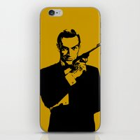 james bond iPhone & iPod Skins featuring James Bond 007 by Walter Eckland