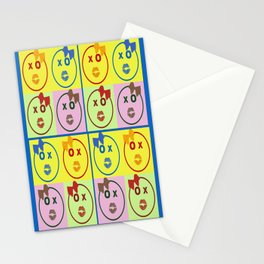Kissy Lovey Face Stationery Cards
