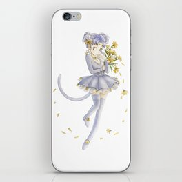Diana´s human form Sailormoon fanart iPhone Skin