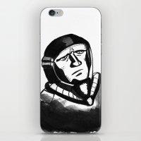 spaceman iPhone & iPod Skins featuring SpaceMan by Juicebox Farley