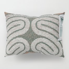 Labyrinth Mural - New Harmony, Indiana Pillow Sham