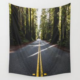 Redwoods Road Trip - Nature Photography Wall Tapestry