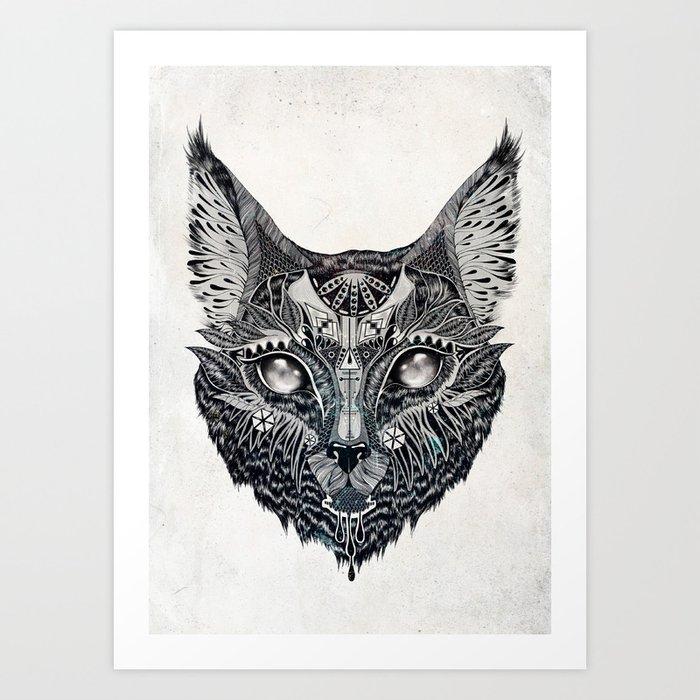 Lynx Art Print