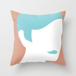 Twiggy1 Throw Pillow